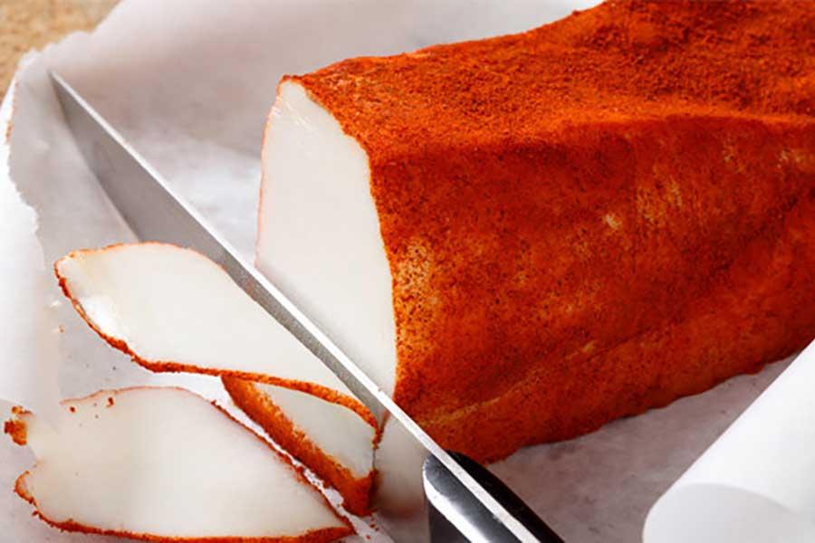 сало с паприкой в морозилке