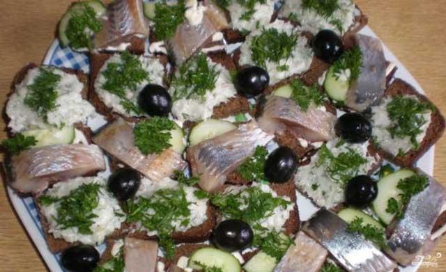 рецепты бутербродов с салом