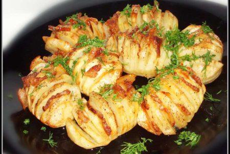 Рецепты сала с картофелем в фольге в духовке