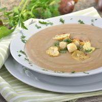 французские первые блюда - суп из каштанов