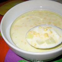 рецепты первых блюд -молочный суп