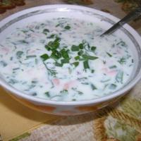 рецепты первых блюд -окрошка