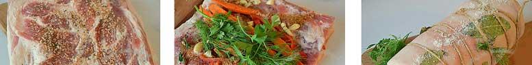 пошаговый рецепт сала с морковью в виде вареного рулета