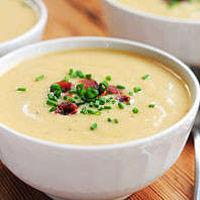 французские первые блюда - сырный суп