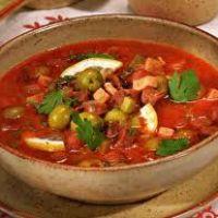 рецепты первых блюд - солянка