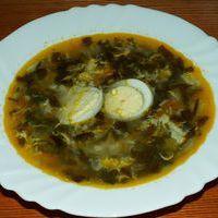 рецепты первых блюд - щавелевый суп