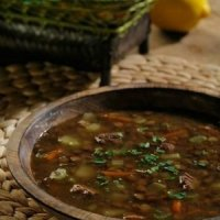 рецепты первых блюд -чечевичный суп